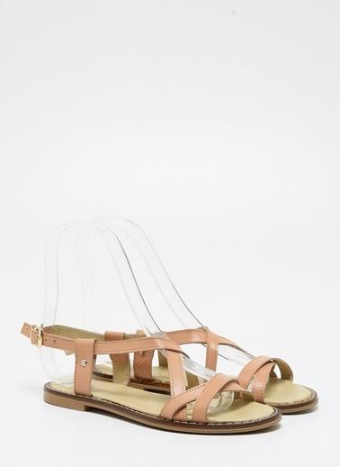 F By Fabrika Kadın Haki Sandalet ADELA Camel